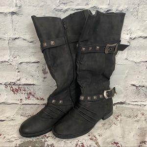 BANANA BLUES Buckle Boots